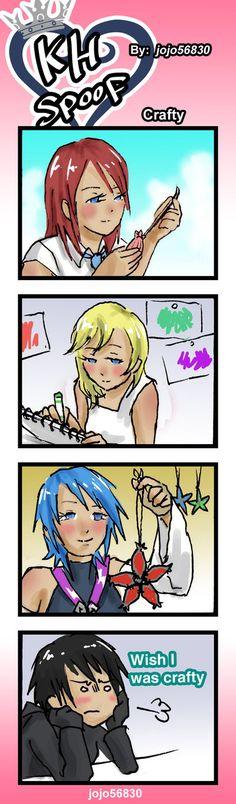 KH Spoof: Crafty by jojo56830.deviantart.com on @DeviantArt