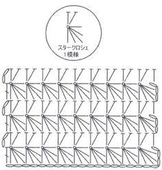 スタークロッシェの編み方 - 手作りの温もり