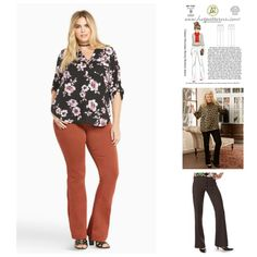 Pantspiration: RTW Inspiration + Sewing Pattern Options | Curvy Sewing Collective | Bloglovin'