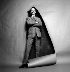 NORMAN PARKINSON - photo by Terence Donovan