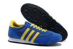 100% authentic 93e4a c3d74 Unisex Adidas Originals Dragon Moderat Blå Gulhttpwww.dksko.com