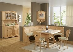 Esszimmermöbel im Landhausstil Landau Holz Fichte Rosner Massiv 20985. Buy now at https://www.moebel-wohnbar.de/esszimmermoebel-im-landhausstil-landau-holz-fichte-rosner-massiv-20985.html