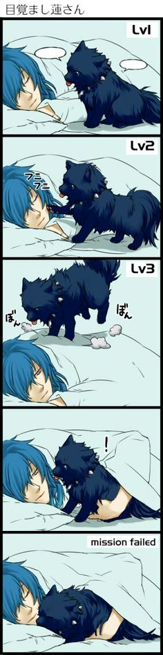 Awww too cute! Ren stop being so adorable or i'll die from cuteness overload! I Love Anime, Anime Guys, Manga Anime, Otaku, The Garden Of Words, Nitro Chiral, Ciel Nocturne, Dramatical Murder, Image Manga