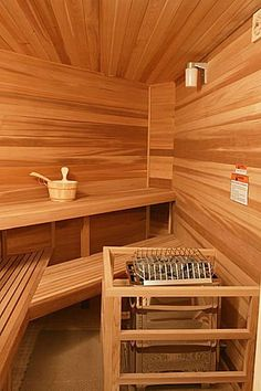 Sauna, need this sooner than later!