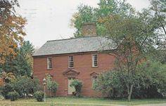 1765 Red Salt Box House - Historic Deerfield, Massachusetts