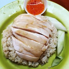 The Best Things I Ate and Drank in Singapore - Cactus Pop Chicken Rice Recipes, Veggie Recipes, Asian Recipes, Singapore Chicken Rice Recipe, Hainanese Chicken, Singapore Food, Singapore Travel, Food Places, Food Dishes