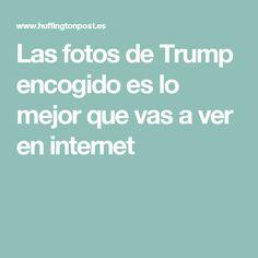 Las fotos de Trump encogido es lo mejor que vas a ver en internet