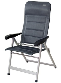 Looking for the best camping chair? Practical, comfortable and durable. You'll love it!! Crespo AL-237 DL: Tejido acolchado especial. Butaca 7 posiciones con patas ovales reforzadas.     Special quilted multifiber,  reinforced oval legs armchair. 7 positions.