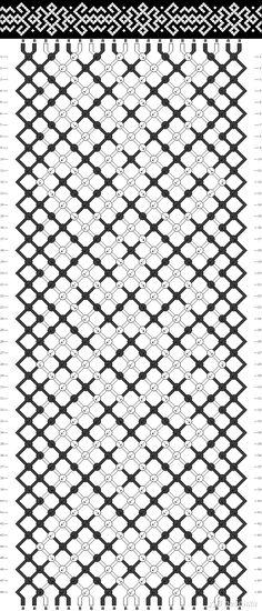 фенечка трезубец прямое плетение - Поиск в Google