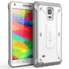 Samsung Galaxy Note 4 Case Original SUPCASE (Heavy Duty) Belt Clip Holster WHITE #Supcase
