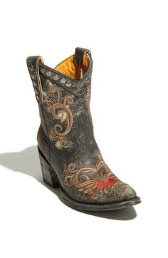 """Old Gringo Little """"G"""" boot at Nordies, cool retro look cowboy boots, $517.95"""