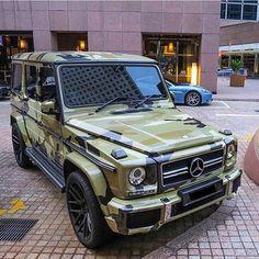 Camo G Class Mercedes Benz