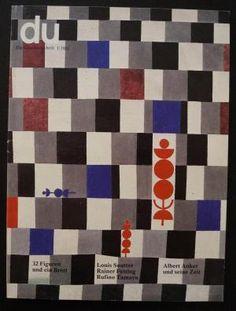 Du 491 | Januar 1982 Schach.: Zürich Conzett+Huber / TA-Media Softcover - sammelbecken, bär
