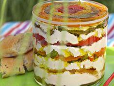 Découvrez la recette Terrine de brousse aux poivrons sur cuisineactuelle.fr.