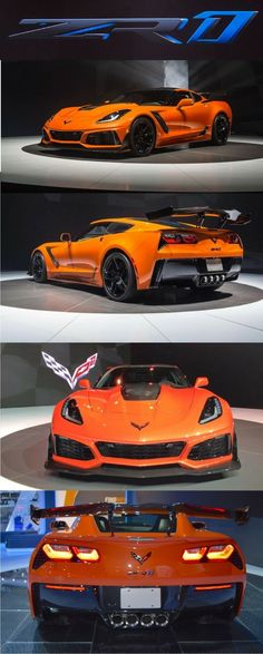 2019 Chevrolet Corvette ZR1 with 766 horsepower is fastest-ever Vette. Click on the image to read more. #chevroletcorvettezr1