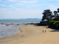 Petite plage de Kervoyal en Damgan (Morbihan - Bretagne)