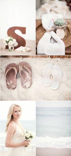 Beach Wedding by Franklin + Gower