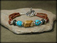 Turquoise Bracelet Beaded Bracelet Southwest Bracelet