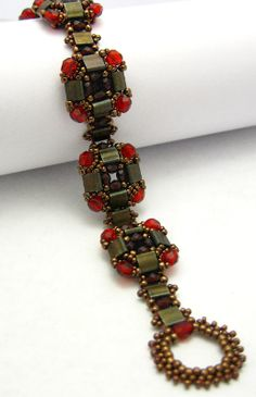 Layered Tila Bracelet Beading Tutorial