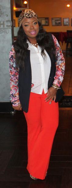 Naja Diamond: Love this look.