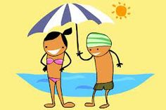 help each other out in the sun.