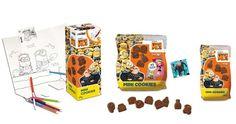 Gru 3 Maxies Mini Cookies, de Tasty and Unique: Galleta sabor cacao con aceite de girasol alto oleico en presentaciones para Impulso y Alimentación.