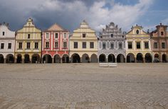 Czech Republic World Heritage Site Photos: Historic Center of Telc Photo