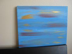 Original Abstract Painting - 8x10 Acrylic on Canvas. $40.00, via Etsy.