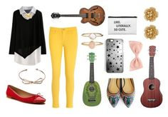 """""""Grace Vanderwaal - Audition"""" by lydiaschley on Polyvore featuring Tommy Hilfiger, Kate Spade, Shoes of Prey, Rianna Phillips, Accessorize and Miriam Haskell"""