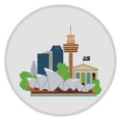 Modern Cross Stitch Pattern PDF Sydney Australia Modern City pattern Travel Sydney Opera House Instant download Modern embroidery X086 by Xrestyk on Etsy https://www.etsy.com/listing/288243535/modern-cross-stitch-pattern-pdf-sydney