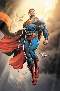 Jason Fabok's Action Comics 1000 cover for Yesteryear Comic