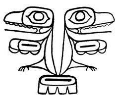 horse totem pole coloring pages - photo#29