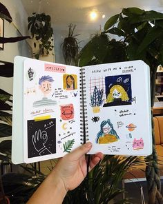 Art Journals – Inspired By: Upcoming Journaling Class at Gather – Gather Goo. - # Art Journals – Inspired By: Upcoming Journaling Class at Gather – Gather Goo. Album Journal, Sketch Journal, Drawing Journal, Scrapbook Journal, Art Journal Pages, Art Journals, Journal Prompts, Journal Design, Drawing Art