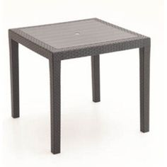 záhradný stôl KING RATTAN ratan hnedý