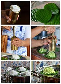 Putu mayang atau mayung adalah makanan yang berasal dari India selatan dan Sri Lanka, biasanya dihidangkan dengan kari. Di jawa biasa...