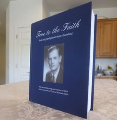"""How to make an ancestor book with Blurb trade books! """"Honoring the Faith of my Ancestors"""" with a Blurb Book."""