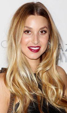 Whitney Port's Wavy Hairstyle Is Pefect For A Relaxed Wedding, 2012