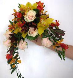 half-moon bouquet