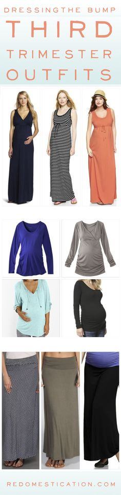 dc239482d Dressing the Bump – Third Trimester Maternity Outfits on Redomestication  Pancita