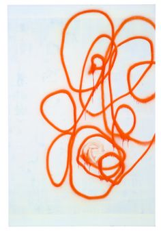 Christopher Wool, Untitled, 2000   Enamel paint on canvas