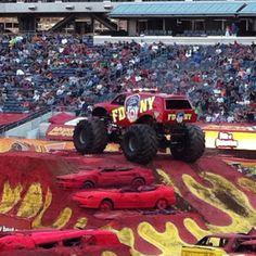 Monster Truck Jams 2012.