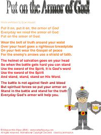 Bible Songs  Put on the Armor of God