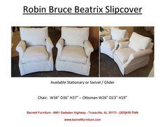 Robin Bruce Beatrix Slipcover Chair