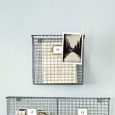 Handsome Wire Storage For The Home