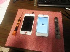 Sostituzione Dispaly+Touch su Iphone 5S.. contattaci per un preventivo.. 3928875319 oppure tramite email: riparoexpress.rc@gmail.com