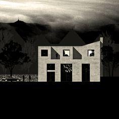 Quite hairy proposal. Never built. #architecture #liberec