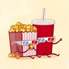 Картинки по запросу попкорн рисунок