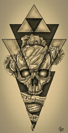 Design #137 por Giulio Rossi | Hip - Dark - Sketch Tattoo Design Needed!