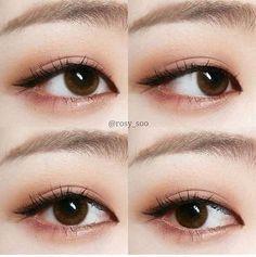 Korean Makeup Inspiration - - Korean Makeup Inspiration Natural Makeup Tips Korean Eye Makeup Tutorial – K-Beauty Inspiration Korean Natural Makeup, Korean Makeup Look, Korean Makeup Tips, Korean Makeup Tutorials, Makeup Tutorial For Beginners, Eye Makeup Tips, Makeup Eyeshadow, Makeup Kit, Coral Eyeshadow