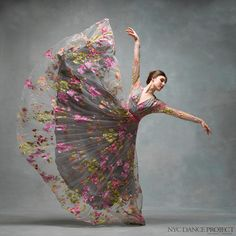 NYC Dance Project - Tiler Peck Dress by Naeem Khan, hair and makeup by Juliet Jane